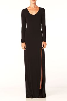 Another client that I absolutely love! Bella Luxx LONG SLEEVE SLIT MAXI DRESS - yes i got to keep this dress ;)