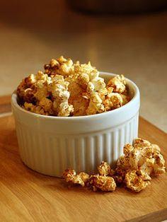 Savory, Sweet BBQ Popcorn
