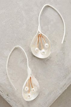 Calla Pearl Drops - anthropologie.com