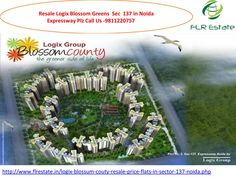 9811220757 logix blossom county layout