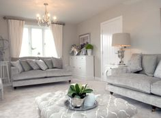 Lounge @ Pendle Hill View, Barrow by Bloor Homes
