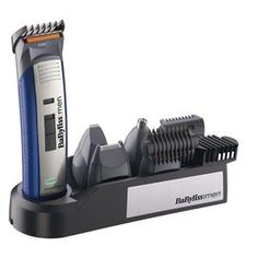 BABYLISS - E836XE _ Tondeuse multi-usages 10 en 1 - Secteur et Rechargeable pour un fonctionnement sans fil - Innovation lame WTECH Titanium haute performance - Lame fixe en acier inoxydable - Pour la coupe de vos cheveux et de votre barbe, une lame de 32 mm et deux guides de coupe vous seront utiles dont 1 guide de précision pour tailler les barbes très courtes - Lame de précision 7 mm et tête de rasage 18mm spéciale visage et outil spécial nez/oreilles - Brosse de nettoyage - Garantie 3…