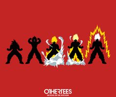 """""""Dragon's Rage"""" by JBaz T-shirts, Tank Tops, V-necks, Sweatshirts and Hoodies are on sale until March 11th at www.OtherTees.com #dragonballz #dragonball #anime #goku #songohan #othertees"""