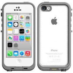 LifeProof Apple iPhone 5C Waterproof Case - Clear / White
