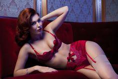 La Lilouche Luxury Lingerie * Photographer: Emmelie Aslin - www.emmelieaslin.se * Model: Emma Green