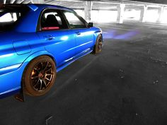 Night Life.    2007 Subaru WRX STi