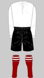 1907-1908 Arsenal Kit