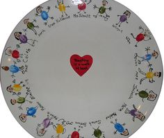 Teachers keepsake plate Artcentric CA School Projects | Flickr - Photo Sharing!