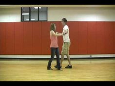 Instructional Country Swing Dancing  4.15 - Trust fall (modify?)  8.19 - Out of table top  8.38 - Between-the-leg spin