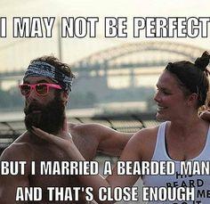 """☕ Beard motivation #uygp ~~ Love a bearded man ~~ Use promo code ""BREWINGBEARDS"" for 15% off ~~ Visit BrewingBeards.com #BrewingBeards #beard…"""