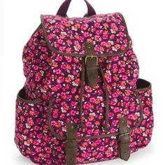 Aeropostale bags for school - Cute Backpacks On Pinterest Backpacks Floral Backpack And Pink
