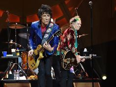 Ronnie Wood and Keith Richards of The Rolling Stones. Picture: Justin Sanson