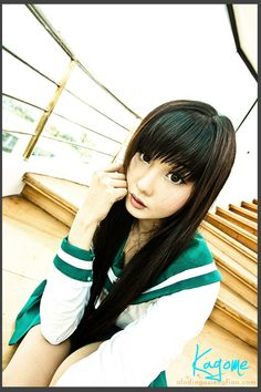 Alodia as Kagome ^_^