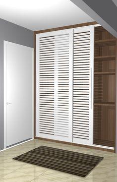 Bedroom Setup, Small Room Bedroom, Closet Bedroom, Home Decor Bedroom, Hallway Furniture, Home Decor Furniture, Mcm House, Home Entrance Decor, Laundry Room Layouts