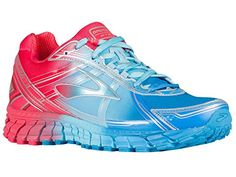 e57ea910347 Brooks Women s Adrenaline GTS 15 DesdenBlue Bluefish Teaberry Nylon Running  Shoes 7.5 M US