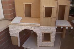 Foro de Belenismo - Paso a paso -> Una casita para el belen Corner Desk, Diy, Furniture, Home Decor, Rustic Homes, Roof Tiles, Nativity Sets, Birth, Step By Step