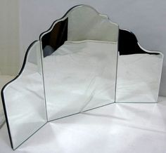 Violet Trifold Mirror for vanity, because I don't know how anyone can do their hair w/ out one.