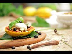 A Sentada - Receita: Papaia grelhada com Crumble e Gelado - YouTube