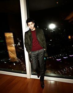 Lee Sang Yoon: Esquire December, 2012