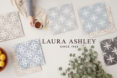 New tiles to fall in love with! ✨ The @lauraashleyusa exclusive designer collection has expanded with three new colorways - Sea Spray, Midnight, and Pale Slate. Explore the new whimsical shades and view some of our favorite Laura Ashley spaces on the blog. Laura Ashley Mr Jones, I Spy Diy, Jack And Jill Bathroom, The Tile Shop, Sea Spray, Boho Bathroom, Modern Farmhouse Style, Fireplace Design, Star Designs