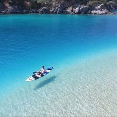 Ölüdeniz is a beach town on the Mediterranean Sea, and the water puts every beach we've ever seen to shame. Known as the Blue Lagoon, the beach is a perfectly clear ombré of aqua.