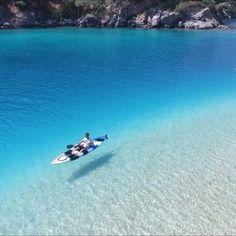 Tag who you'd like to be with  If you want to see every shade of blue in just one vista, then maybe think of swimming at Blue lagoon to make your dreams come true!  Maviye anlam katan denizin, hiç olmadığı kadar parlayan güneşin ve doğanın tüm yeteneğini sergilediği yer, Ölüdeniz  Thanks to @buzzbeachbar  @skysportsturkey #Oludeniz #Turkey #Seakayak #paddle @turkey_home @djiglobal  Music: Two colors / Places