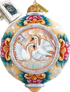 Features:  -Comes in a beautiful decorative gift box.  -Made in the USA.  Product Type: -Shaped ornament.  Theme: -Animal.  Color: -Multi-color.  Country of Manufacture: -United States.  Primary Mater