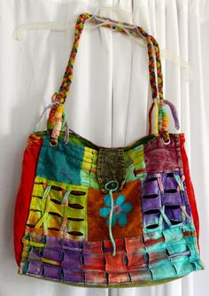 bag made in Nepal where the proceeds support families