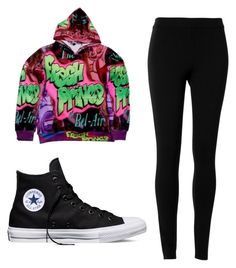 """Fresh Prince Of Bel-Air"" by xosmileyy on Polyvore featuring Max Studio and Converse"