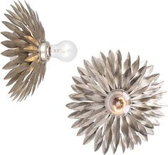 Crystorama Leaf Wall Lights from the Broche Collection - Transitional Wall Sconces - Deep Discount Lighting Transitional Lighting, Transitional Wall Sconces, Corbett Lighting, Contemporary Wall Sconces, Long Walls, Tea Stains, Discount Lighting, Wall Brackets, Wall Sconce Lighting