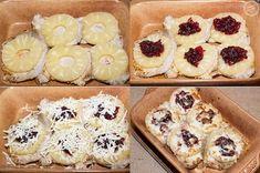 Schab zapiekany z ananasem i żurawiną Delicious Desserts, Recipies, Pineapple, Recipes, Rezepte