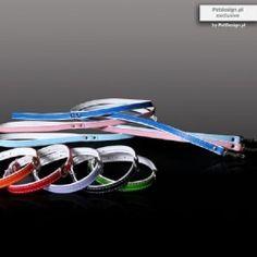 Pure Elegance halsband Paars Mooie#100% zacht lederen#handgemaakte halsband met wit lederen voering waardoor hij extra dik en zacht is.