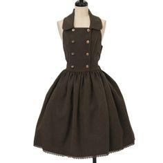 ホルターネックジャンパースカート|ロリィタファッションInnocent World | イノセントワールド|ロリータ ゴスロリ服・古着の通販はワンダーウェルト