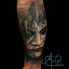 Credit: Arlo DiCristina Tattoos   Tattoo Artists - Inked Magazine: