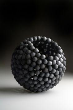 From Caroline Van Hoek, David Huycke, Marble Bowl (2006), Silver, 16.5 cm diameter