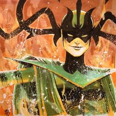 Hela by Mike Henderson *
