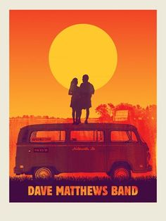 Dave Matthews Band: Deer Creek Poster Night #2 6.23.12 (our anniversary night- how perfect?!)