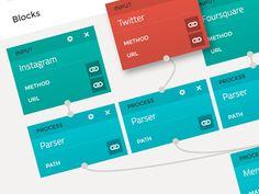 Stacks by Marleen van den Brand News Web Design, App Design, Flat Design, Gui Interface, User Interface Design, Dashboard Design, Dashboard Ui, Make Up Guide, Mobile Ui Design
