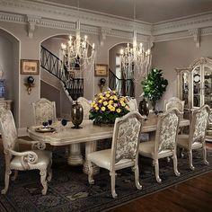 Dining Rooms | Michael Amini Furniture Designs | Amini.com