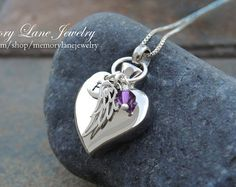 Urn Necklace Jewelry Cremation Necklace by MemoryLaneJewelry