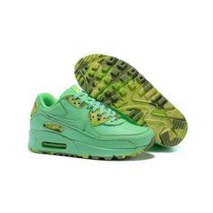 best website 73357 72918 Nike Mulheres - Barato 2015 Nike Air Max 90 Mulheres Tenis De Corrida Verde  0046