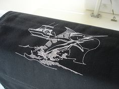Sunbrella Tailwalking Marlin Boarding Mat For Boat by OBACanvasCo, $80.00