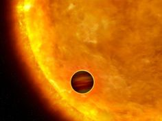 New research shows that a giant planet orbiting extremely close to its star  will soon be shredded by tidal forces.