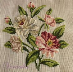 This Pin was discovered by Mer Tiny Cross Stitch, Cross Stitch Tree, Cross Stitch Heart, Cross Stitch Flowers, Modern Cross Stitch, Cross Stitch Designs, Cross Stitch Patterns, Needlepoint Stitches, Hand Embroidery