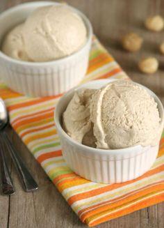 Vanilla Macadamia Ice Cream (dairy-free, egg-free, natural sweeteners, vegan)