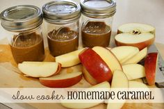 Slow Cooker Crockpot Caramel using Sweetened Condensed Milk