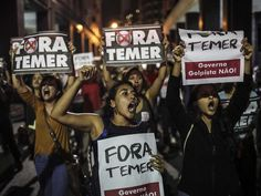 The impeachment of Rousseff is a coup d'etat: Brazil used to say of its…