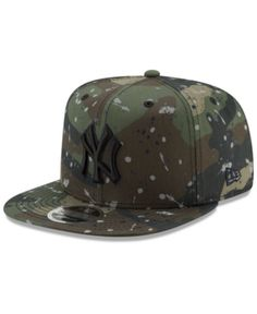 newest 3219d 0920d New Era New York Yankees Camo Spec 9FIFTY Snapback Cap - Green Adjustable