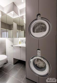 Moderní koupelny inspirace - Sázavská, Praha 2 | Favi.cz