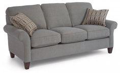 Westside Fabric Sofa by #Flexsteel via Flexsteel.com